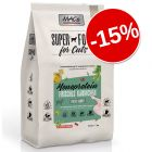 15% reducere! MAC's Superfood for Cats Adult Monoprotein Iepure, 1.5 kg