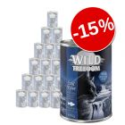 15% reducere! Pachet economic Wild Freedom Adult 24 x 400 g