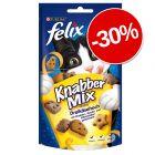 30% reducere! Snackuri Felix pentru pisici
