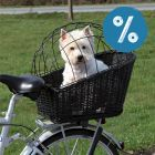 10% reducere! Trixie Coș de bicicletă cu grilaj