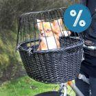 20% reducere! Trixie Coș de bicicletă negru