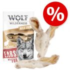 10% reducere!! Wolf of Wilderness Urechi uscate