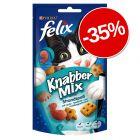 35% reducere! 2 x 60 g Felix KnabberMix
