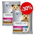 30% reducere! 2 x 1,4 kg Perfect Fit hrană uscată câini