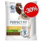 30% reducere! 2 x 1.4 kg Perfect Fit hrană uscată pentru pisici