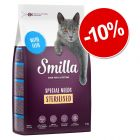 10% reducere! 3 x 1 kg Smilla hrană uscată pentru pisici