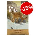 15% reducere! 2 x 2 kg Taste of the Wild
