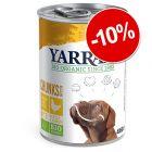 10% reducere! 12 x Yarrah Bio Conserve pentru câini