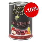 10% reducere! zooplus Selection 6 x 400 g