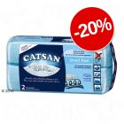 20% reducerel! Catsan Așternut igienic pentru pisici