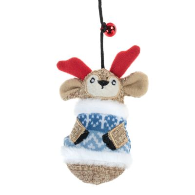 Reindeer Cat Dangler Toy