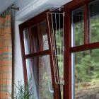 Rejilla protectora blanca Trixie para ventanas