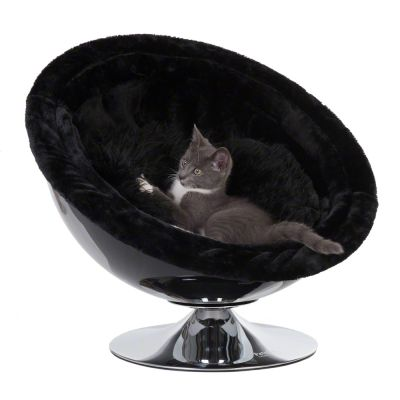 Retro Pet Nest Grey