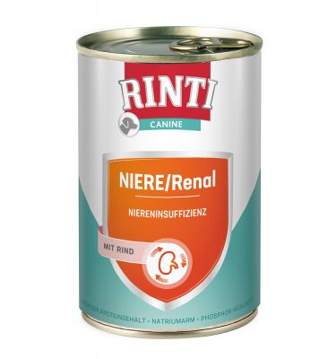 RINTI Canine Niere/Renal mit Rind 400 g