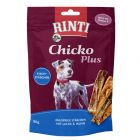 RINTI Extra Chicko Plus Bâtonnets de poisson pour chien
