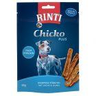 RINTI Extra Chicko Plus snacks de peixe e frango