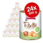 RINTI Filetto -säästöpakkaus 24 x 800 g