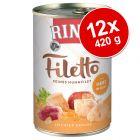 RINTI Filetto -säästöpakkaus 12 x 420 g
