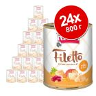 Икономична опаковка RINTI Filetto 24 x 800 г