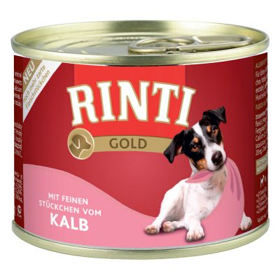 RINTI Gold 12 x 185 g pour chien