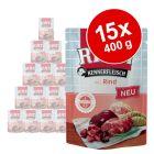 RINTI Kennerfleisch Pouches 15 x 400 g