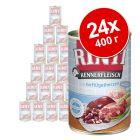Икономична опаковка RINTI Kennerfleisch 24 x 400 г