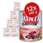 Rinti Kennerfleisch 12 x 800 g - Pack Ahorro