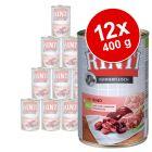 Rinti Kennerfleisch 12 x 400 g - Pack Ahorro