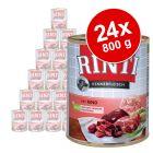 Rinti Kennerfleisch 24 x 800 g - Pack Ahorro