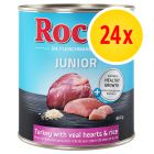Rocco Junior pack ahorro 24 x 800 g