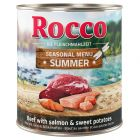 Rocco Summer Menu – Beef with Salmon & Sweet Potato
