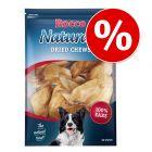 15% скидка! Rocco говяжьи уши для собак