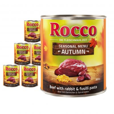 Rocco Autumn Menu
