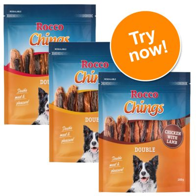 Rocco Chings Double Mixed Trial Pack  3 x 200g