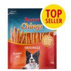 Rocco Chings Originals snacks de tiras de pechuga de pollo