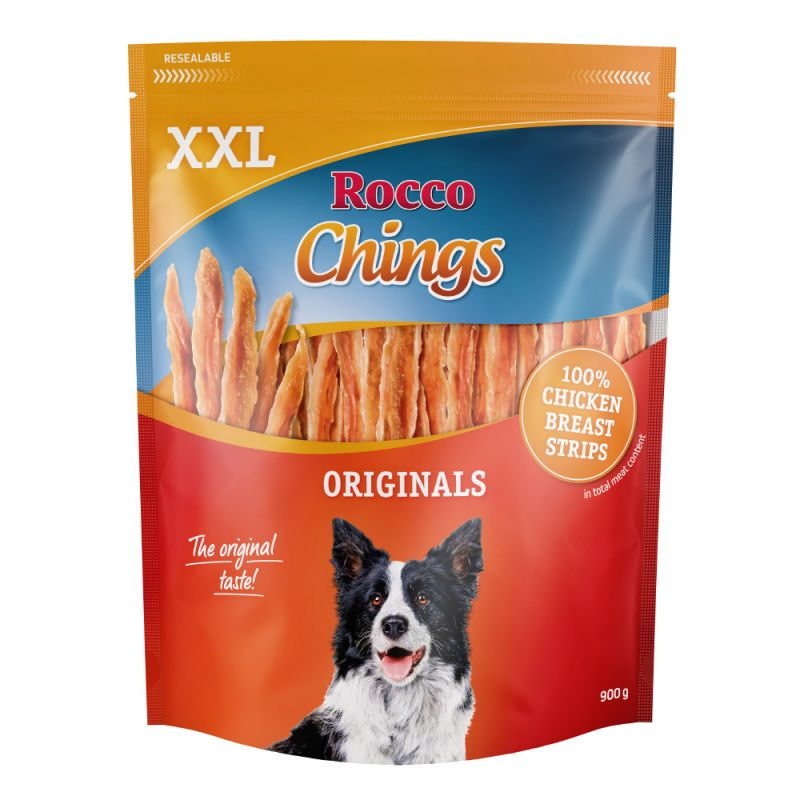 Rocco Chings Originals XXL Pack - Strips of Chicken Breast