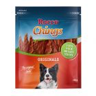 Rocco Chings tyggestrips, Andebryst i strimler