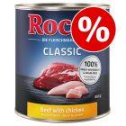 Rocco Classic koiranruoka 24 x 800 g erikoishintaan!