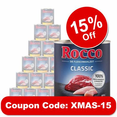 Rocco Classic Saver Pack 24 x 800g
