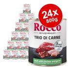 Rocco Classic Trio di Carne Saver Pack 24 x 800g