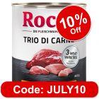 Rocco Classic Trio di Carne 6 x 800g