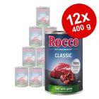 Rocco Classic 12 x 400 g hundfoder