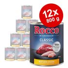 Rocco Classic 12 x 800 g hundfoder