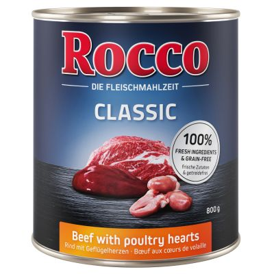 Rocco Classic 24 x 800 g - Pack económico