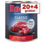 Rocco comida húmida 24 x 800 g em promoção: 20 + 4 grátis!