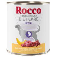 Rocco Diet Care Renal bœuf, cœurs de poulet, potiron pour chien