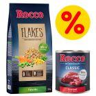 Rocco Flocken-Mix 10 kg + 6 x 400 g / 800 g Rocco Classic Nassfutter