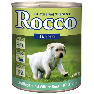 Rocco Junior 6 x 800 g