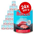 Rocco Junior 24 x 800 g - pack económico