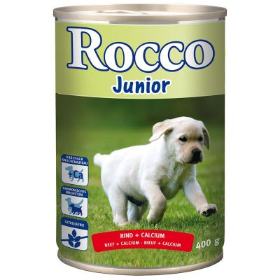Rocco Junior 24 x 400 g - pack económico